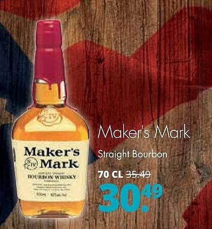 Mitra Maker's Mark Straight Bourbon