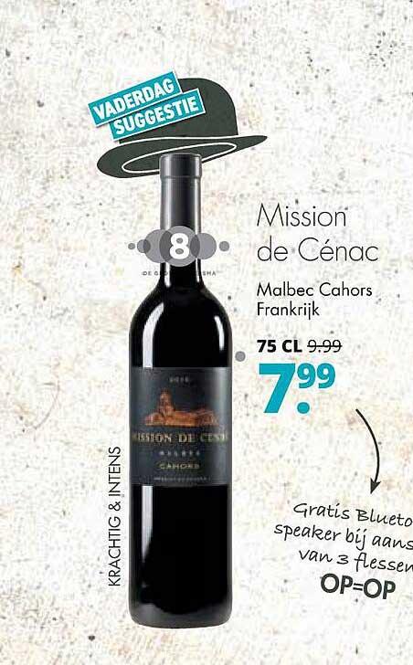 Mitra Mission De Cénac Malbec Cahors