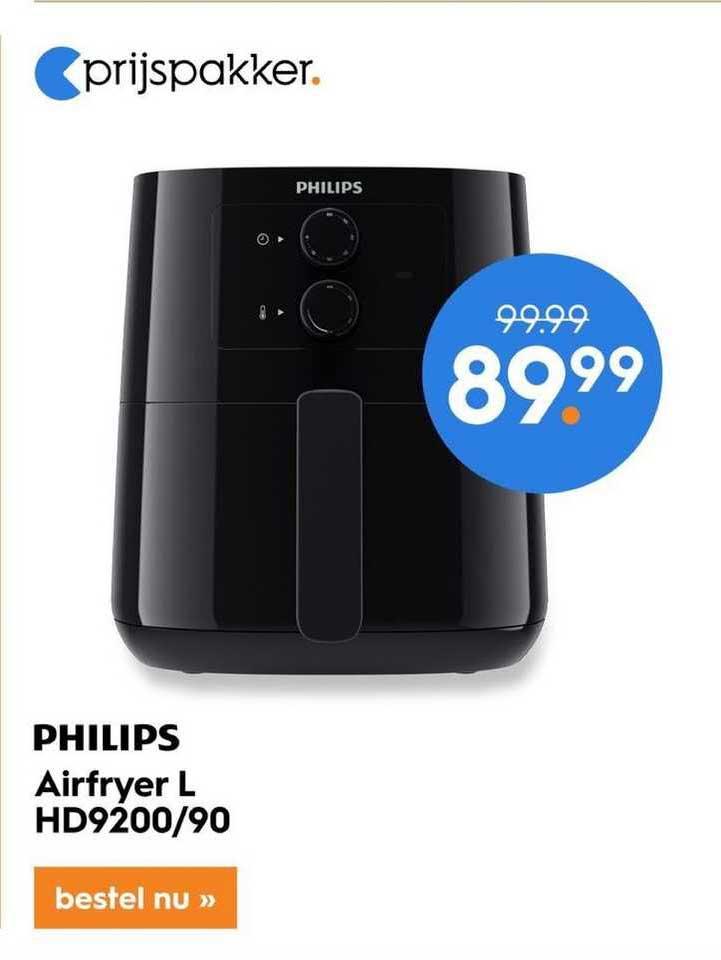 Blokker Philips Airfryer L HD9200-90