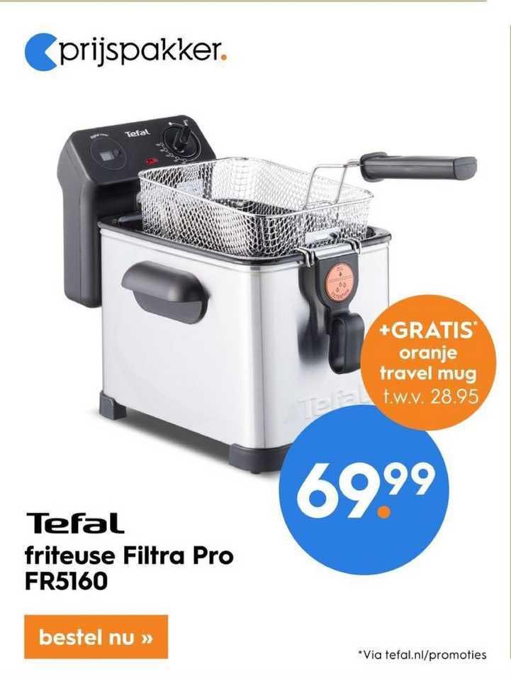 Blokker Tefal Friteus Filtra Pro FR5160