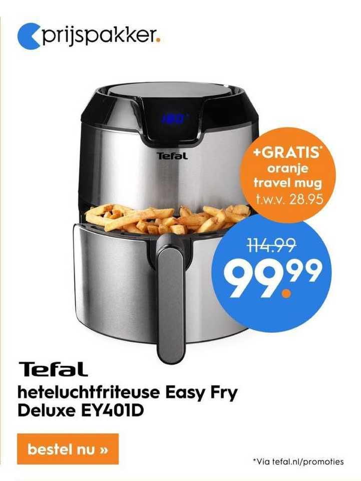 Blokker Tefal Heteluchtfriteuse Easy Fry Deluxe EY401D
