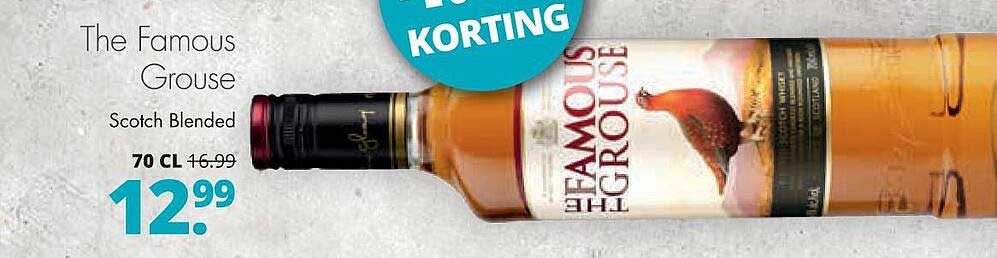 Mitra The Famous Grouse Scotch Blended