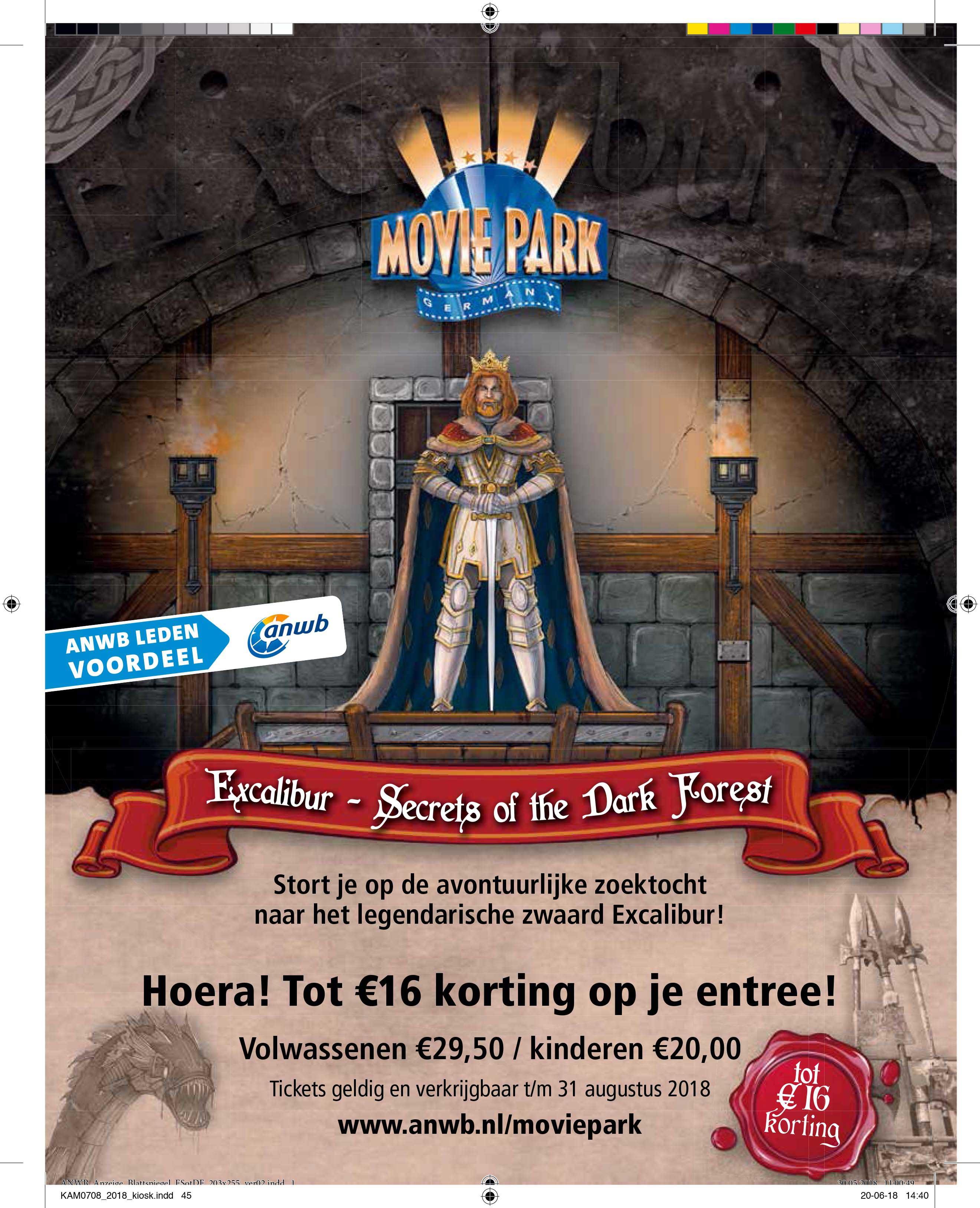ANWB Movie Park Germany: Tot €16,- Korting Op Je Entree
