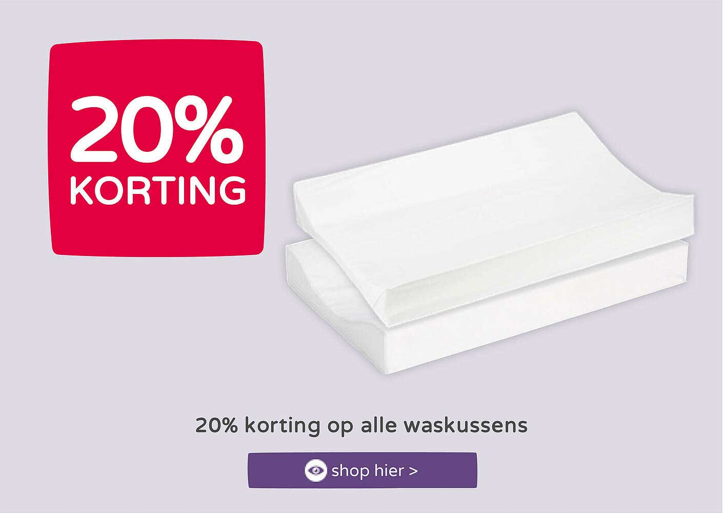 Prénatal 20% Korting Op Alle Waskussens