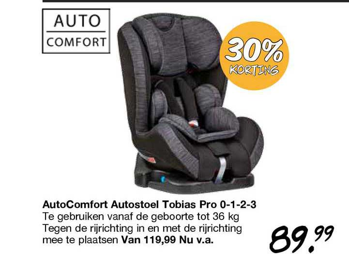 Van Asten AutoComfort Autostoel Tobias Pro 0-1-2-3 30% Korting