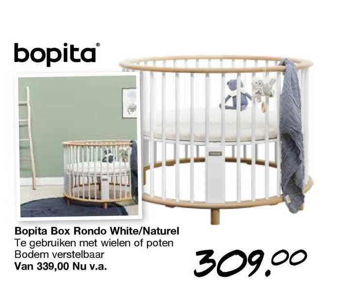 Van Asten Bopita Box Rondo White-Naturel