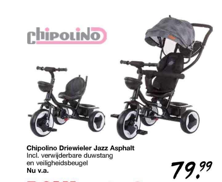 Van Asten Chipolino Driewieler Jazz Asphalt