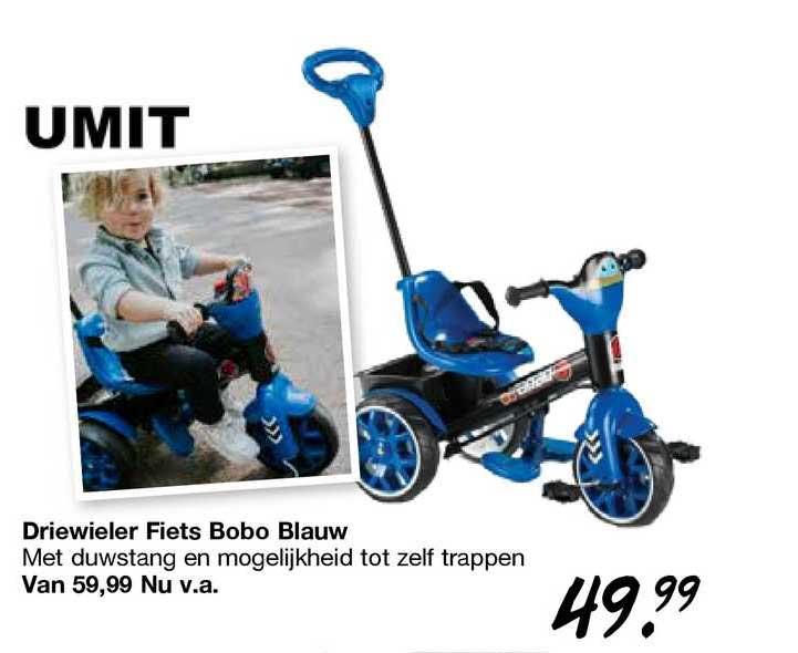 Van Asten Driewieler Fiets Bobo Blauw