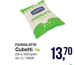 Bidfood Fiordilatte Cubetti