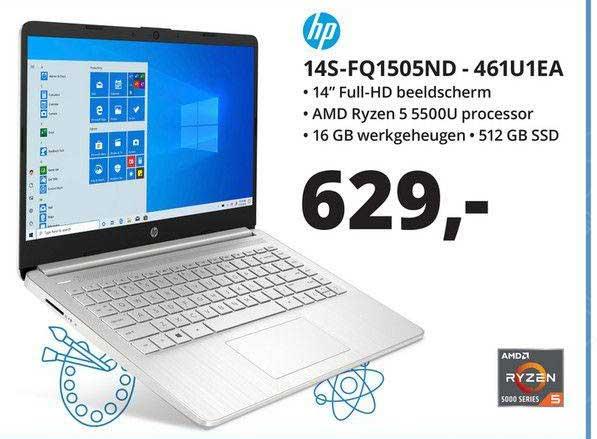 Paradigit HP 14S-FQ1505ND - 461U1EA Laptop