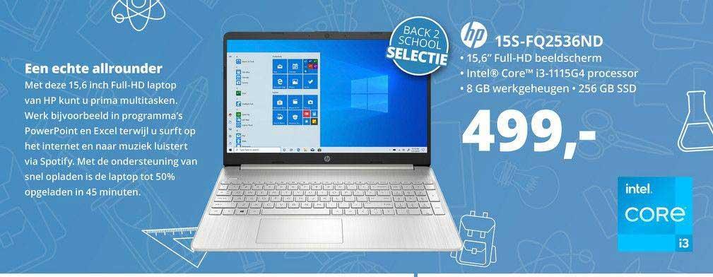 Paradigit HP 15S-FQ2536ND Laptop