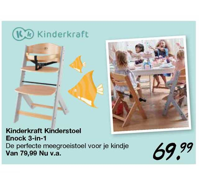 Van Asten Kinderkraft Kinderstoel Enock 3-in-1