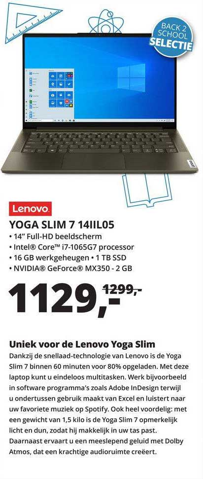 Paradigit Lenovo Yoga Slim 7 14IIL05 Laptop