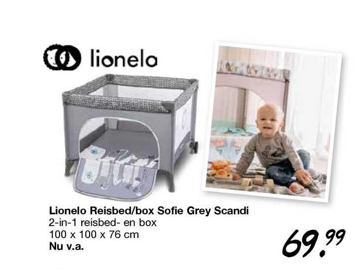 Van Asten Lionelo Reisbed-Box Sofie Grey Scandi