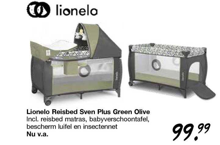 Van Asten Lionelo Reisbed Sven Plus Green Olive