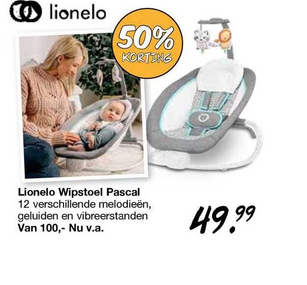 Van Asten Lionelo Wipstoel Pascal 50% Korting