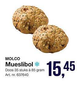 Bidfood Molco Mueslibol