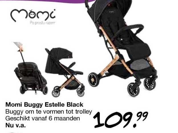 Van Asten Momi Buggy Estelle Black