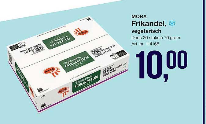 Bidfood Mora Frikandel, Vegetarisch
