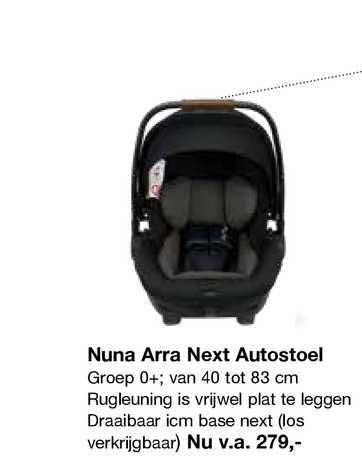 Van Asten Nuna Arra Next Autostoel
