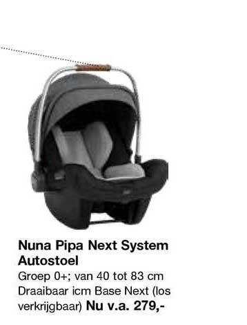 Van Asten Nuna Pipa Next System Autostoel