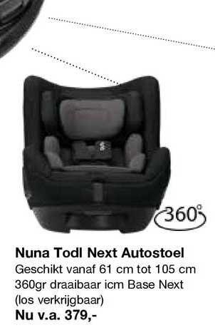 Van Asten Nuna Todl Next Autostoel