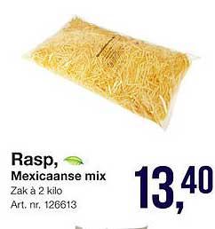 Bidfood Rasp, Mexicaanse Mix