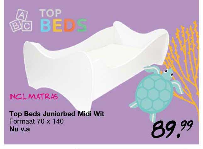 Van Asten Top Beds Juniorbed Midi Wit