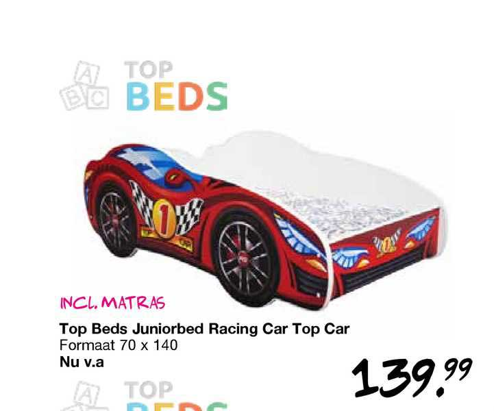 Van Asten Top Beds Juniorbed Racing Car Top Car