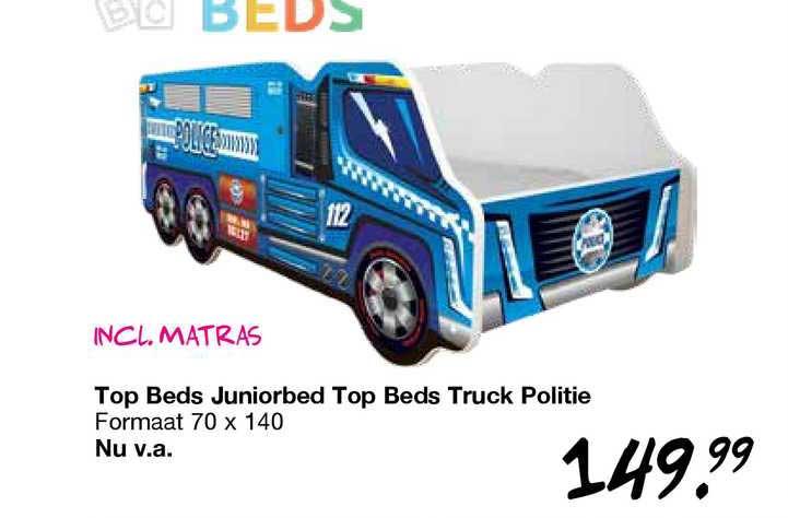 Van Asten Top Beds Juniorbed Top Beds Truck Politie