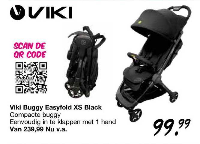 Van Asten Viki Buggy Easyfold XS Black