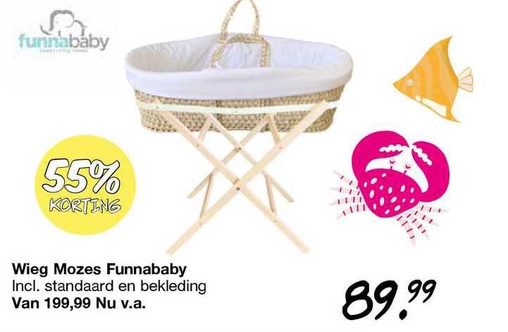 Van Asten Wieg Mozes Funnababy 55% Korting