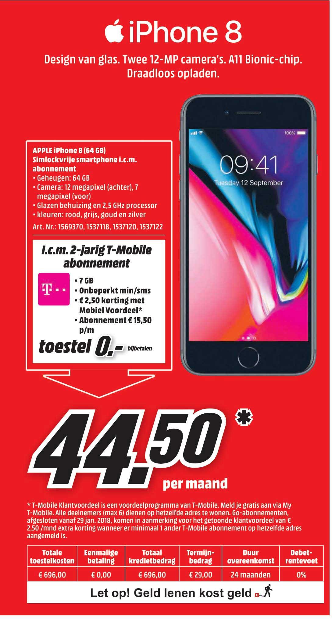 MediaMarkt Apple Iphone 8 (64GB)