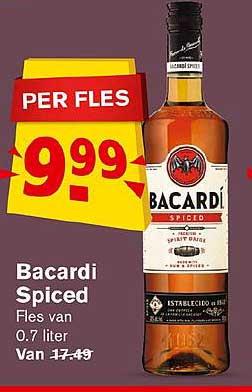 Hoogvliet Bacardi Spiced