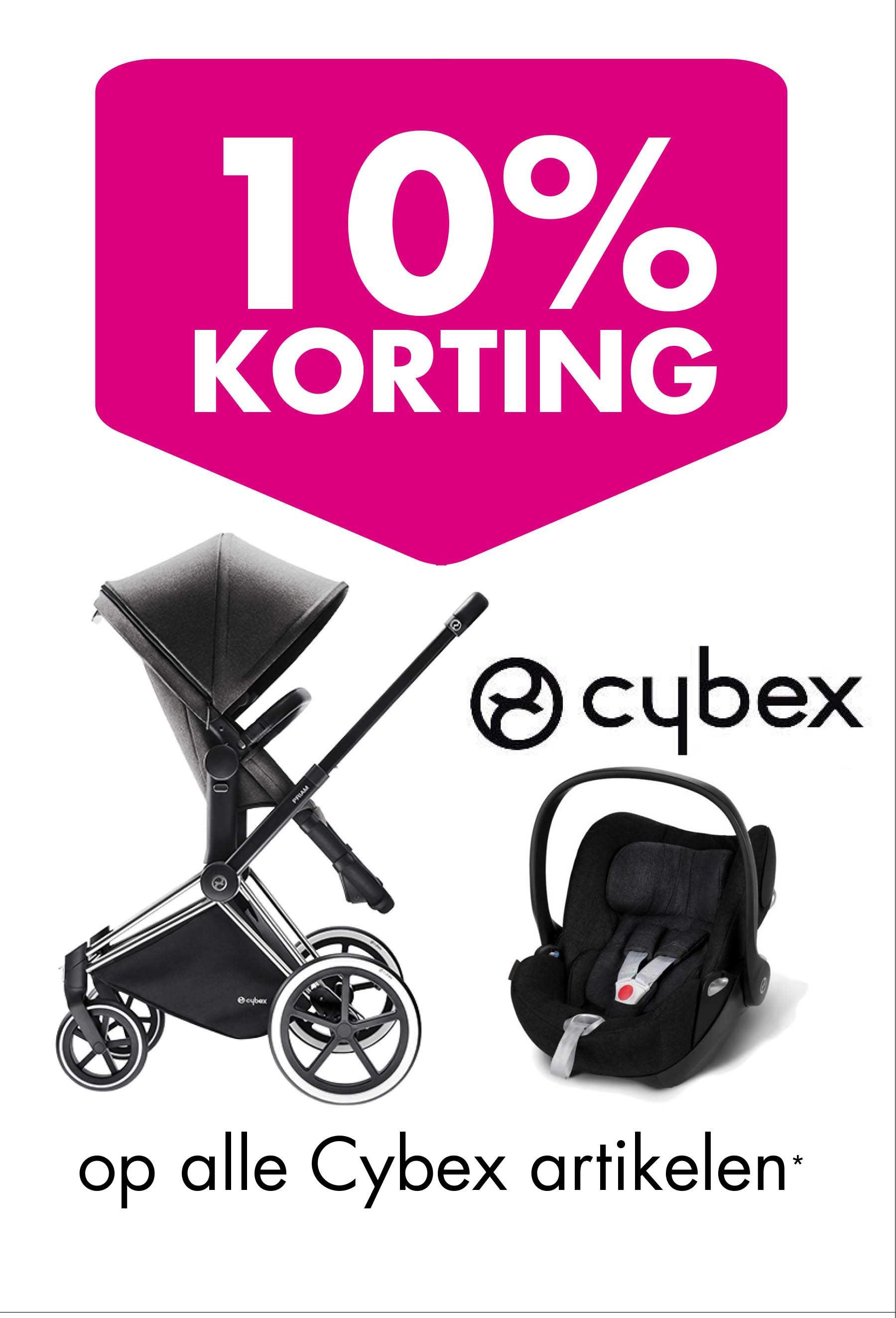 Baby & Tiener 10% Korting Op Alle Cybex Artikelen