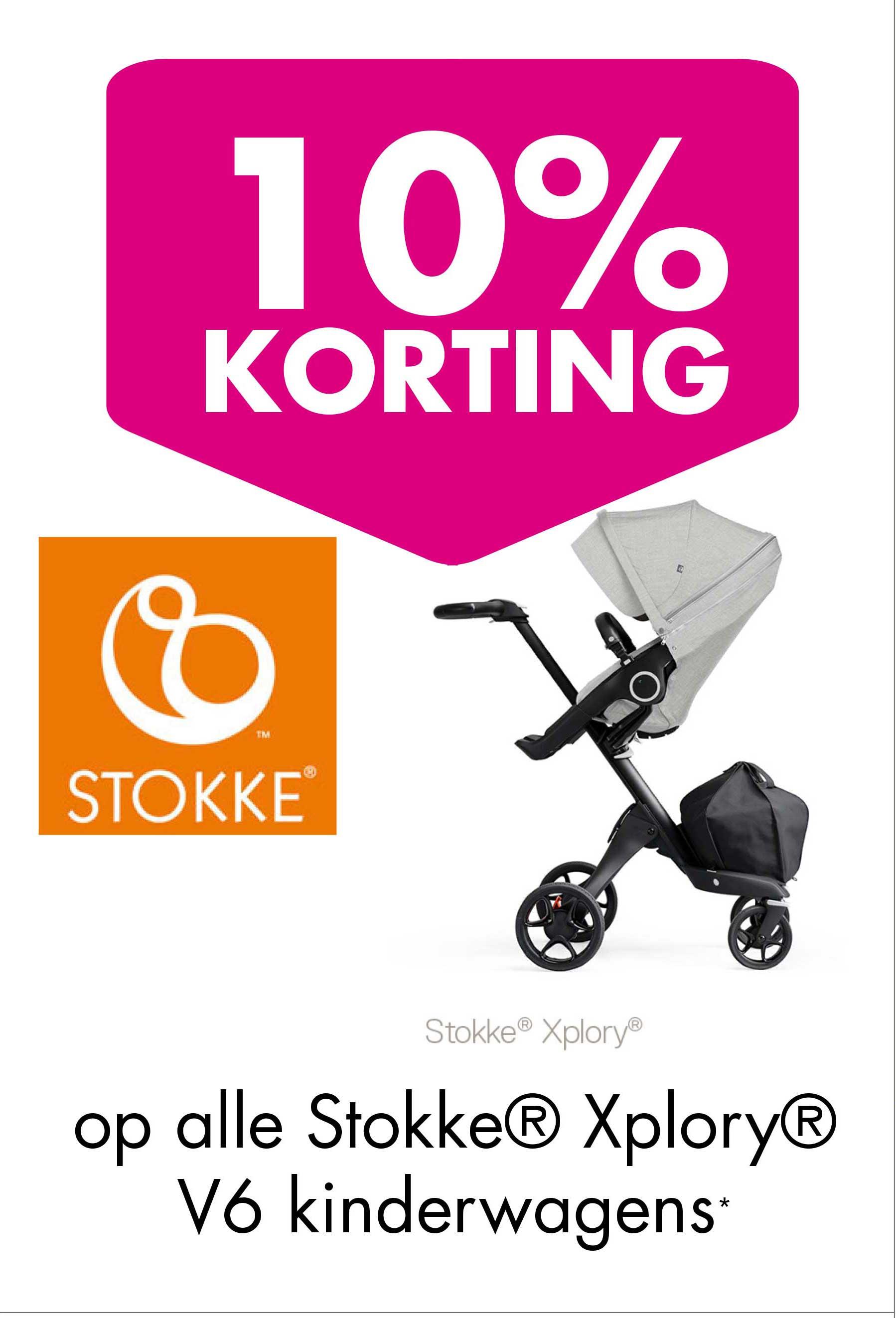 Baby & Tiener 10% Korting Op Alle Stokke Xplory V6 Kinderwagens