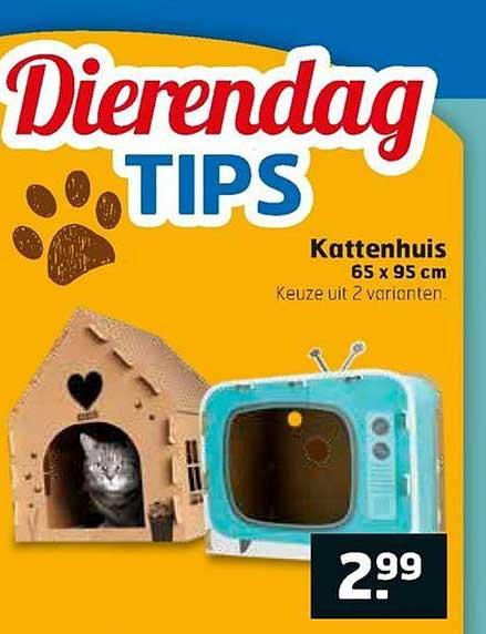 Trekpleister Kattenhuis 65x95 Cm