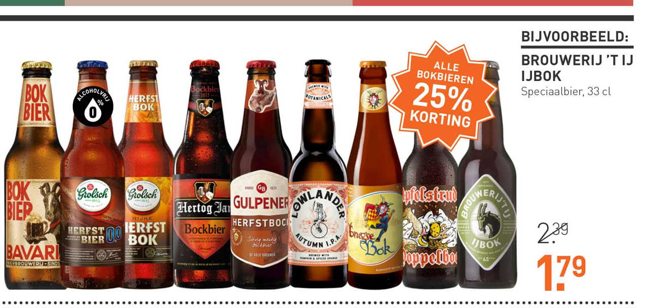 Gall & Gall Alle Bokbieren 25% Korting