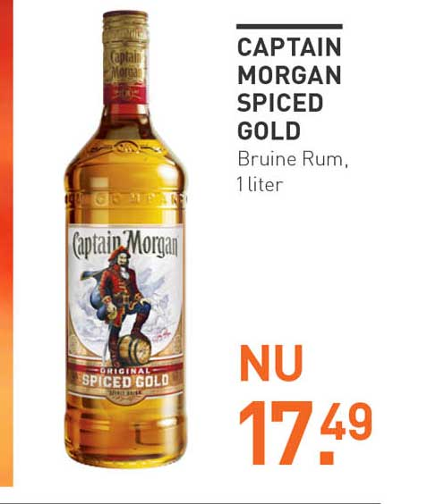 Gall & Gall Captain Morgan Spiced Gold