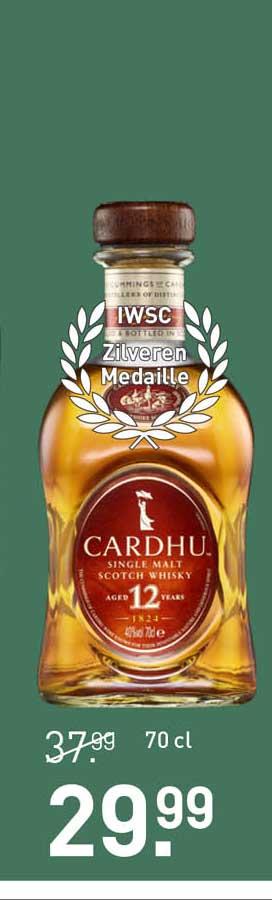 Gall & Gall Cardhu Single Malt Scotch Whisky