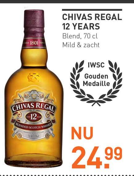 Gall & Gall Chivas Regal 12 Years