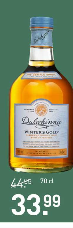 Gall & Gall Dalwhinnie Winter's Gold Highland Single Malt Scotch Whisky