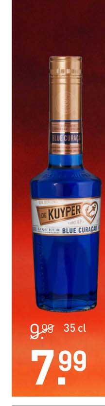 Gall & Gall De Kuyper Blue Curaçao