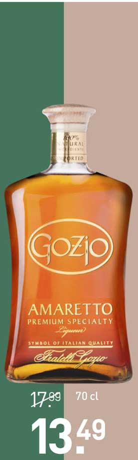 Gall & Gall Gozio Amaretto Premium Specialty