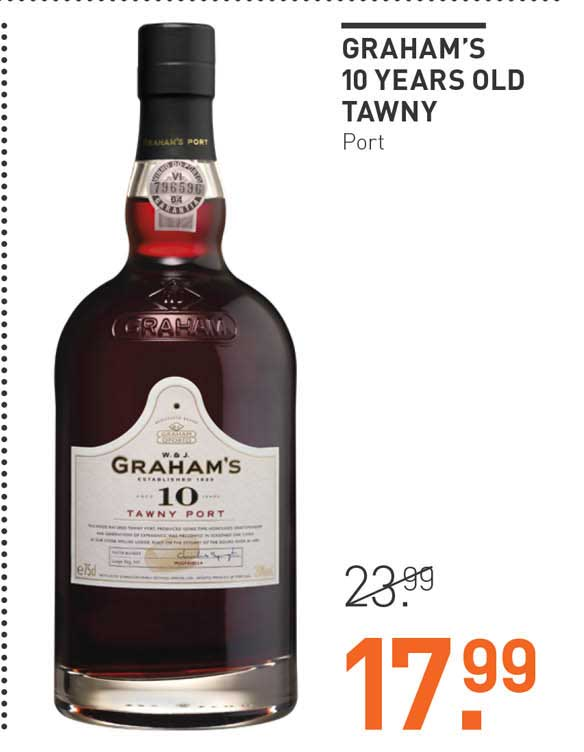 Gall & Gall Graham's 10 Years Old Tawny Port