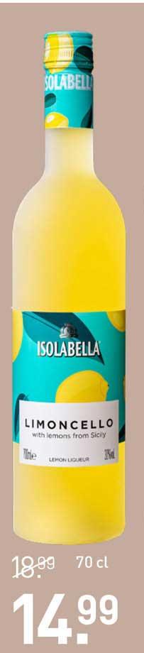 Gall & Gall Isolabella Limoncello