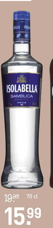 Gall & Gall Isolabella Sambuca