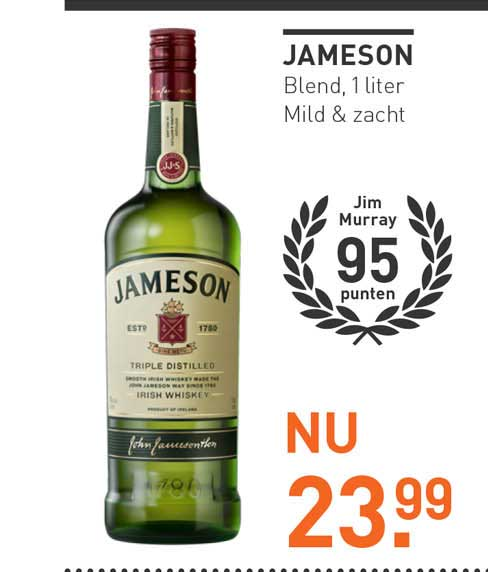 Gall & Gall Jameson Triple Distilled Irish Whiskey