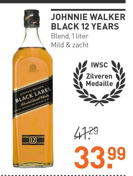 Gall & Gall Johnnie Walker Black 12 Years