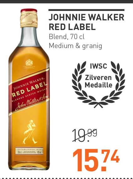 Gall & Gall Johnnie Walker Red Label